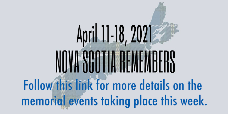 nova scotia remembers memorial events for the one year anniversary of the mass shooting in Portapique